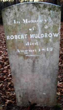 MULDROW, ROBERT - Hempstead County, Arkansas   ROBERT MULDROW - Arkansas Gravestone Photos