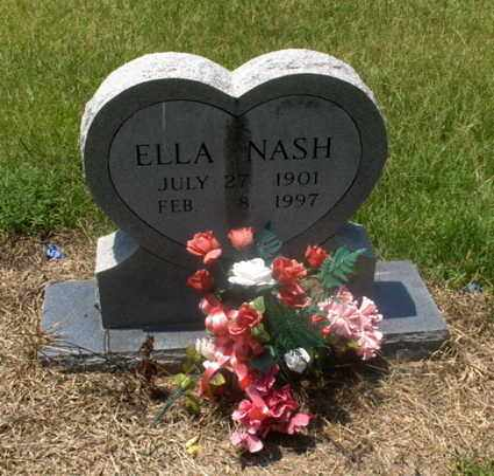 NASH, ELLA - Hempstead County, Arkansas   ELLA NASH - Arkansas Gravestone Photos