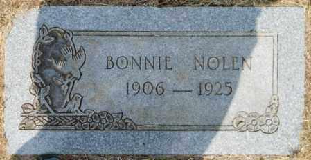 NOLEN, BONNIE - Hempstead County, Arkansas   BONNIE NOLEN - Arkansas Gravestone Photos