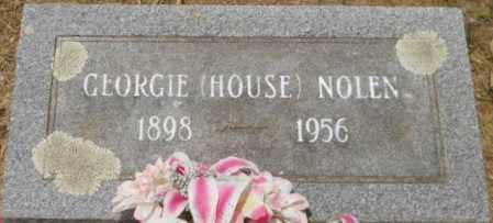 NOLEN, GEORGIE - Hempstead County, Arkansas | GEORGIE NOLEN - Arkansas Gravestone Photos