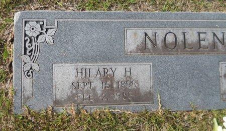 NOLEN, HILARY H (CLOSEUP) - Hempstead County, Arkansas | HILARY H (CLOSEUP) NOLEN - Arkansas Gravestone Photos