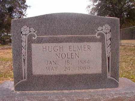 NOLEN, HUGH ELMER - Hempstead County, Arkansas   HUGH ELMER NOLEN - Arkansas Gravestone Photos