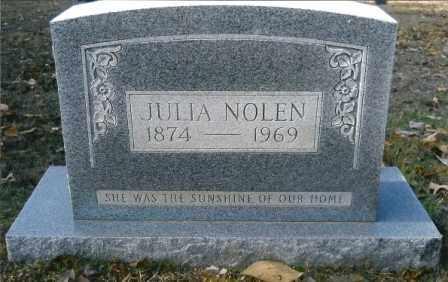 NOLEN, JULIA - Hempstead County, Arkansas | JULIA NOLEN - Arkansas Gravestone Photos