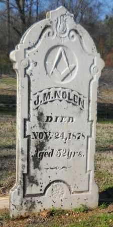 NOLEN, J. M. - Hempstead County, Arkansas | J. M. NOLEN - Arkansas Gravestone Photos
