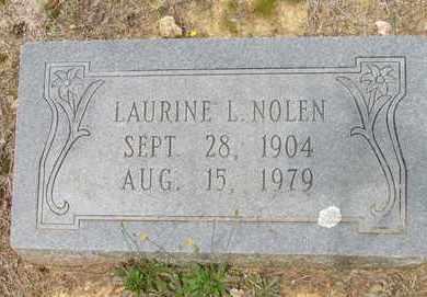 LEWIS NOLEN, LAURINE - Hempstead County, Arkansas | LAURINE LEWIS NOLEN - Arkansas Gravestone Photos