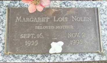 NOLEN, MARGARET LOIS - Hempstead County, Arkansas   MARGARET LOIS NOLEN - Arkansas Gravestone Photos