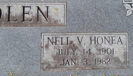 NOLEN, NELL V (CLOSEUP) - Hempstead County, Arkansas | NELL V (CLOSEUP) NOLEN - Arkansas Gravestone Photos