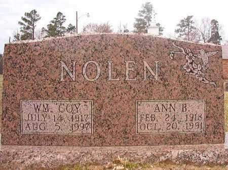 NOLEN, ANN B - Hempstead County, Arkansas | ANN B NOLEN - Arkansas Gravestone Photos