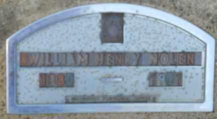 NOLEN, WILLIAM HENRY - Hempstead County, Arkansas   WILLIAM HENRY NOLEN - Arkansas Gravestone Photos