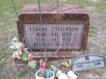 PATTERSON, LORENE - Hempstead County, Arkansas   LORENE PATTERSON - Arkansas Gravestone Photos