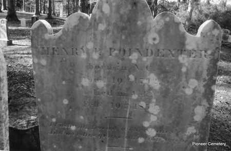 POINDEXTER, HENRY P - Hempstead County, Arkansas | HENRY P POINDEXTER - Arkansas Gravestone Photos