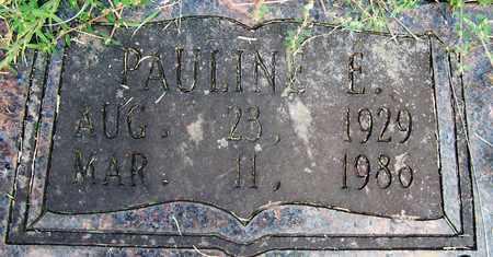 PORTER, PAULINE E (CLOSEUP) - Hempstead County, Arkansas | PAULINE E (CLOSEUP) PORTER - Arkansas Gravestone Photos
