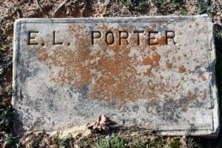 PORTER, E. L. - Hempstead County, Arkansas   E. L. PORTER - Arkansas Gravestone Photos