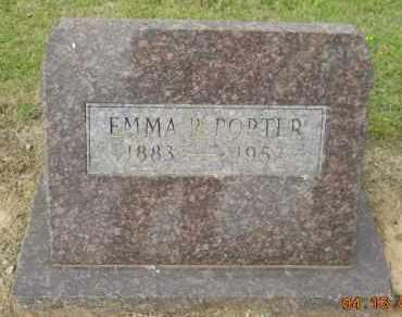 PORTER, EMMA R - Hempstead County, Arkansas   EMMA R PORTER - Arkansas Gravestone Photos