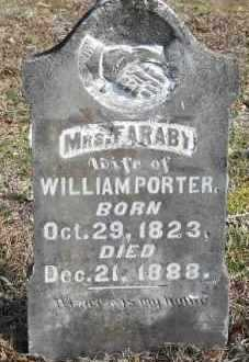 PORTER, FARABY - Hempstead County, Arkansas   FARABY PORTER - Arkansas Gravestone Photos