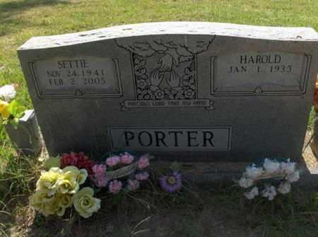 PORTER, HAROLD - Hempstead County, Arkansas | HAROLD PORTER - Arkansas Gravestone Photos