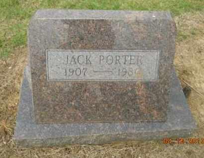 PORTER, JACK - Hempstead County, Arkansas   JACK PORTER - Arkansas Gravestone Photos