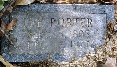 PORTER, LEE - Hempstead County, Arkansas   LEE PORTER - Arkansas Gravestone Photos