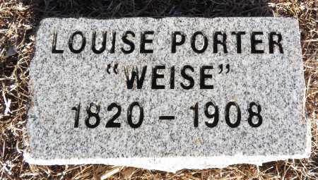"PORTER, LOUISE ""WEISE"" - Hempstead County, Arkansas   LOUISE ""WEISE"" PORTER - Arkansas Gravestone Photos"