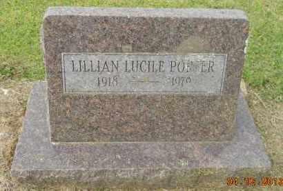 PORTER, LILLIAN LUCILE - Hempstead County, Arkansas | LILLIAN LUCILE PORTER - Arkansas Gravestone Photos