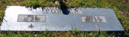 PORTER, MID J - Hempstead County, Arkansas | MID J PORTER - Arkansas Gravestone Photos