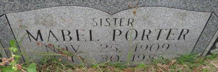 PORTER, MABEL (CLOSEUP) - Hempstead County, Arkansas   MABEL (CLOSEUP) PORTER - Arkansas Gravestone Photos