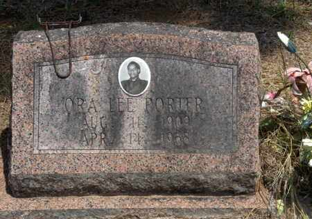 PORTER, ORA LEE - Hempstead County, Arkansas   ORA LEE PORTER - Arkansas Gravestone Photos