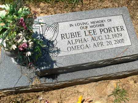 PORTER, RUBIE LEE - Hempstead County, Arkansas | RUBIE LEE PORTER - Arkansas Gravestone Photos