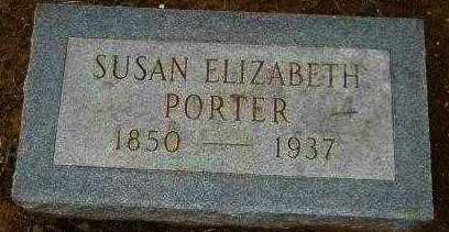 PORTER, SUSAN ELIZABETH - Hempstead County, Arkansas   SUSAN ELIZABETH PORTER - Arkansas Gravestone Photos