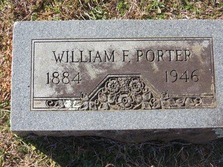 PORTER, WILLIAM F. - Hempstead County, Arkansas   WILLIAM F. PORTER - Arkansas Gravestone Photos