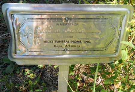 PORTER, WINNIE A - Hempstead County, Arkansas   WINNIE A PORTER - Arkansas Gravestone Photos