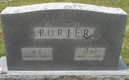 PORTER, W L - Hempstead County, Arkansas | W L PORTER - Arkansas Gravestone Photos