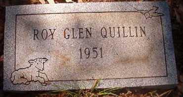 QUILLIN, ROY GLEN - Hempstead County, Arkansas | ROY GLEN QUILLIN - Arkansas Gravestone Photos