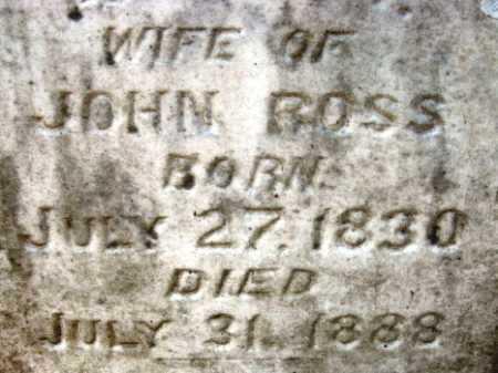 ROSS, ANNIS M (CLOSE UP) - Hempstead County, Arkansas   ANNIS M (CLOSE UP) ROSS - Arkansas Gravestone Photos