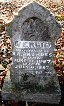 ROSS, VERGIE - Hempstead County, Arkansas | VERGIE ROSS - Arkansas Gravestone Photos
