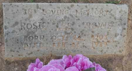 ROWE, ROSIE LEE - Hempstead County, Arkansas | ROSIE LEE ROWE - Arkansas Gravestone Photos