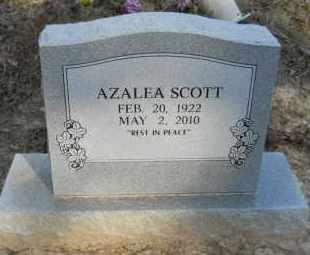 SCOTT, AZALEA - Hempstead County, Arkansas   AZALEA SCOTT - Arkansas Gravestone Photos
