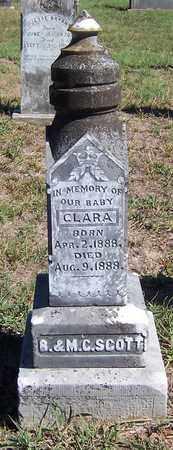 SCOTT, CLARA - Hempstead County, Arkansas | CLARA SCOTT - Arkansas Gravestone Photos