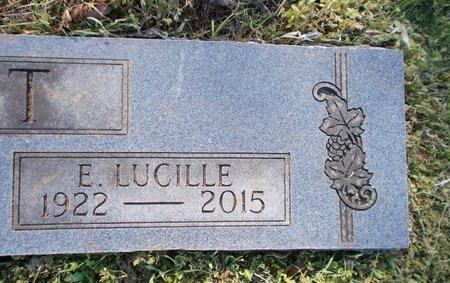 SCOTT, EMMA LUCILLE (CLOSE UP) - Hempstead County, Arkansas | EMMA LUCILLE (CLOSE UP) SCOTT - Arkansas Gravestone Photos