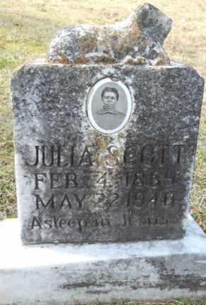SCOTT, JULIA - Hempstead County, Arkansas | JULIA SCOTT - Arkansas Gravestone Photos