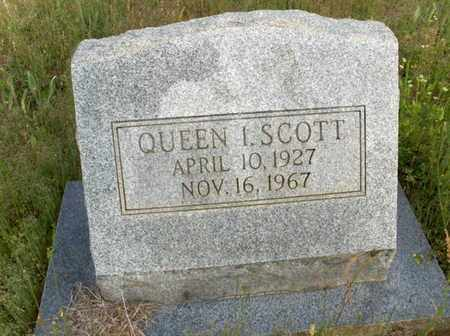 SCOTT, QUEEN I - Hempstead County, Arkansas   QUEEN I SCOTT - Arkansas Gravestone Photos