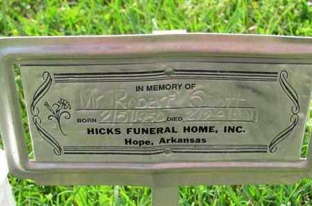 SCOTT, ROBERT - Hempstead County, Arkansas | ROBERT SCOTT - Arkansas Gravestone Photos