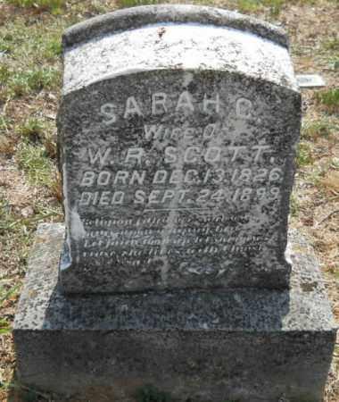 SCOTT, SARAH C - Hempstead County, Arkansas   SARAH C SCOTT - Arkansas Gravestone Photos