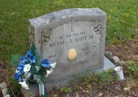 SCOTT,SR, MICHAEL D - Hempstead County, Arkansas | MICHAEL D SCOTT,SR - Arkansas Gravestone Photos