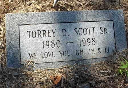 SCOTT,SR, TORREY D - Hempstead County, Arkansas | TORREY D SCOTT,SR - Arkansas Gravestone Photos