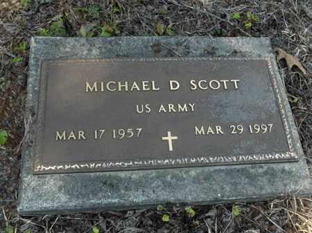 SCOTT,SR (VETERAN), MICHAEL D - Hempstead County, Arkansas | MICHAEL D SCOTT,SR (VETERAN) - Arkansas Gravestone Photos