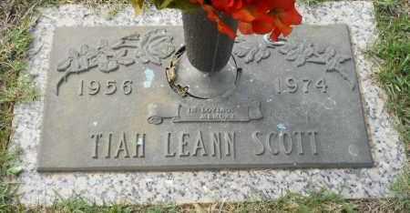 SCOTT, TIAH LEANN - Hempstead County, Arkansas   TIAH LEANN SCOTT - Arkansas Gravestone Photos