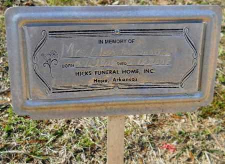 SCOTT, GLENDON - Hempstead County, Arkansas   GLENDON SCOTT - Arkansas Gravestone Photos