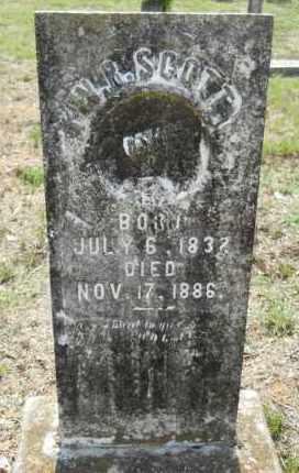 SCOTT, W R - Hempstead County, Arkansas   W R SCOTT - Arkansas Gravestone Photos