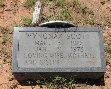 SCOTT, WYNONA - Hempstead County, Arkansas   WYNONA SCOTT - Arkansas Gravestone Photos